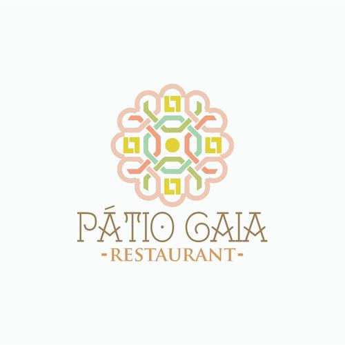 """Create a logo for Slow Food Restaurant, Cafe and Emporium """"Pátio Gaia""""."""