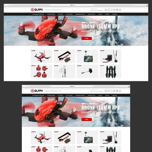Design banner for DLFPV
