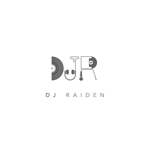 create a logo for electro DJ Raiden!