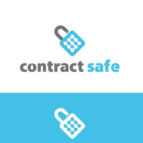 Logo concept security company