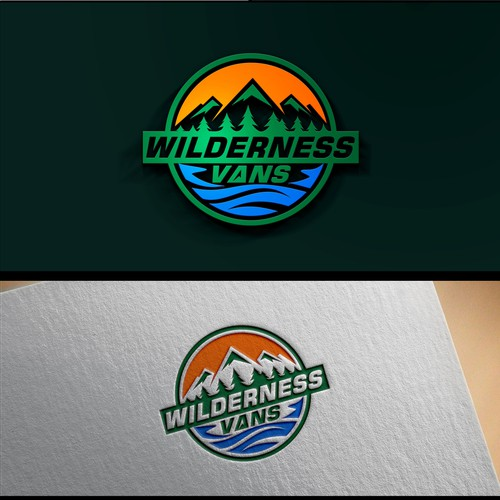 Create a logo for Wilderness Vans - Adventure Camper Vans Parts and Outfitter