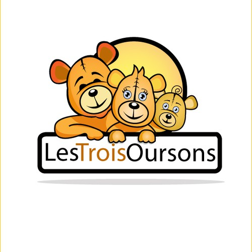 logo for Les 3 Oursons