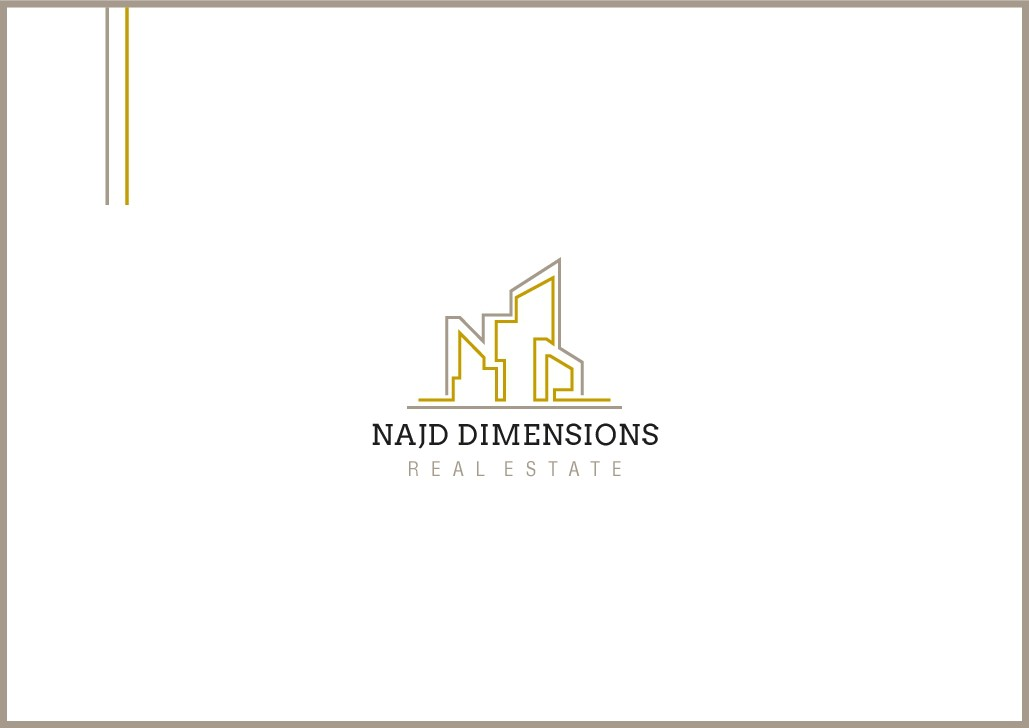 Najd Dimensions Real Estate is looking for creative logo