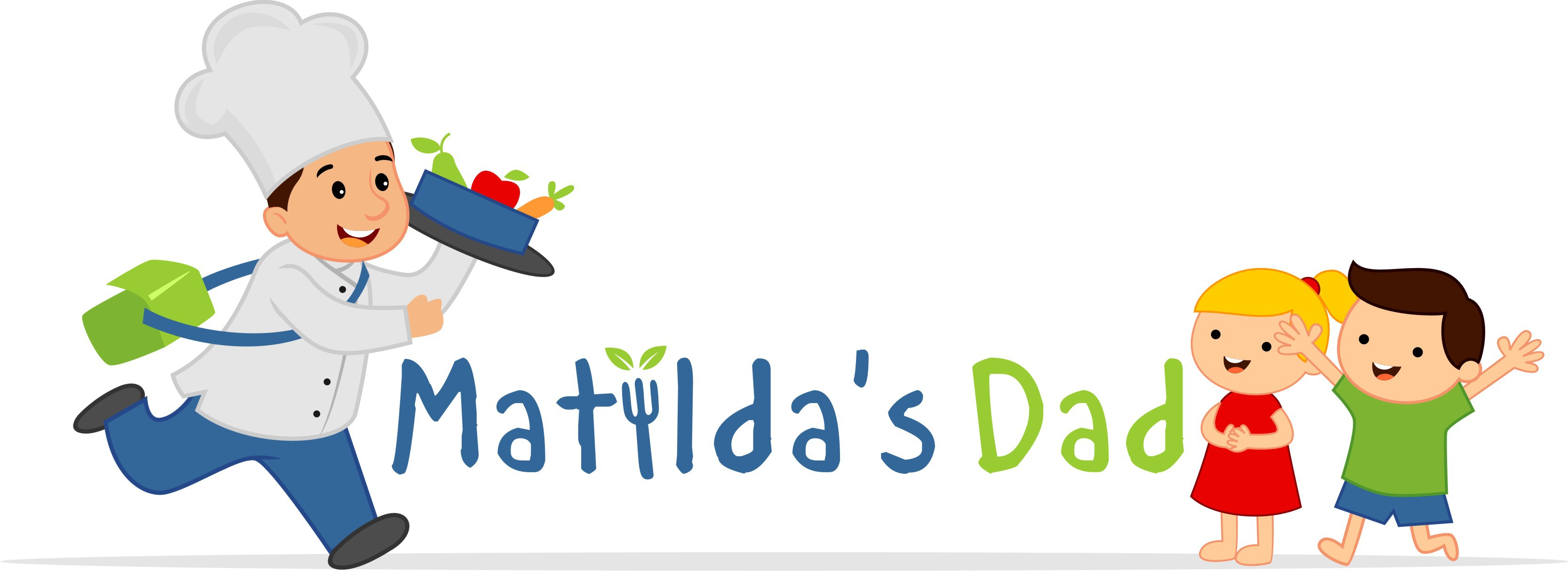 Create a logo that both communicates our business and delights for Matilda's Dad