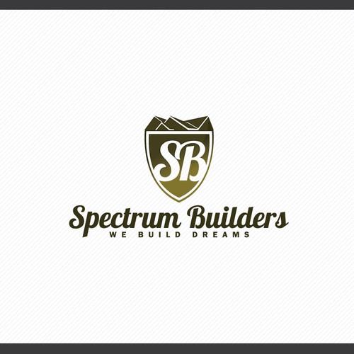 Logo for Spectrum Builders