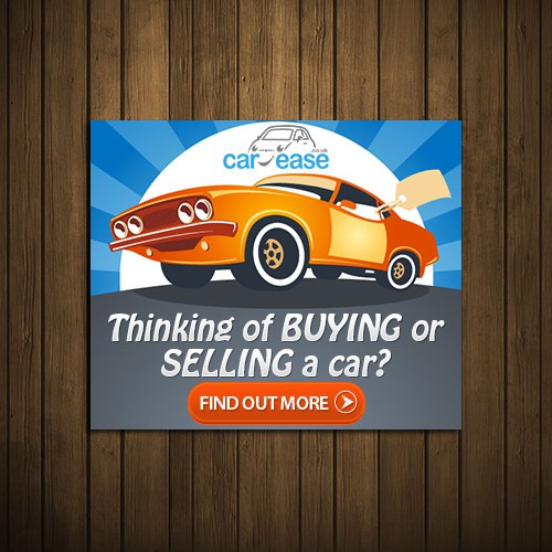 Create a friendly, interesting banner ad for our new business - car-ease!