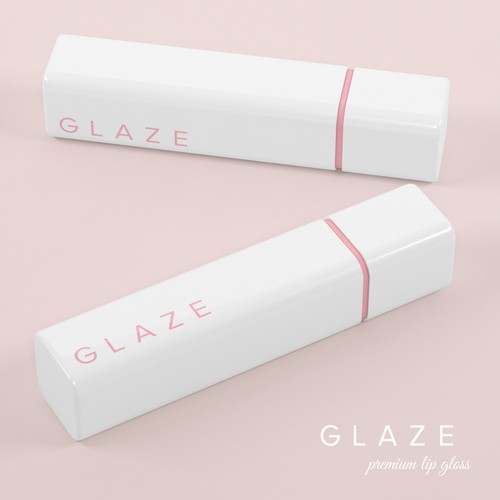 Minimalist and chic lip gloss for GLAZE