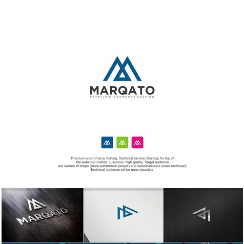 Bold logo concept For Marqato