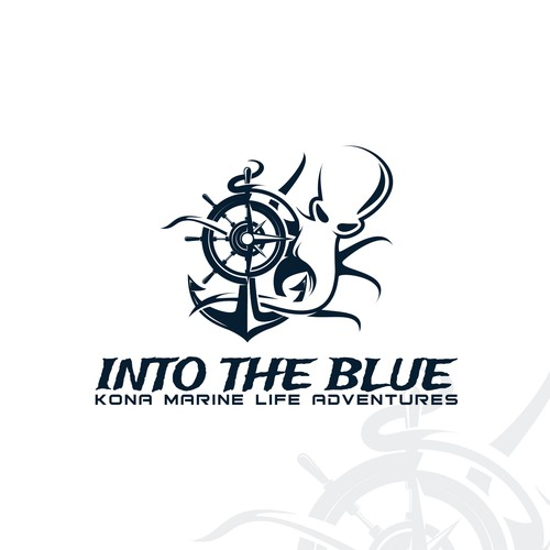 Winning logo for Into The Blue