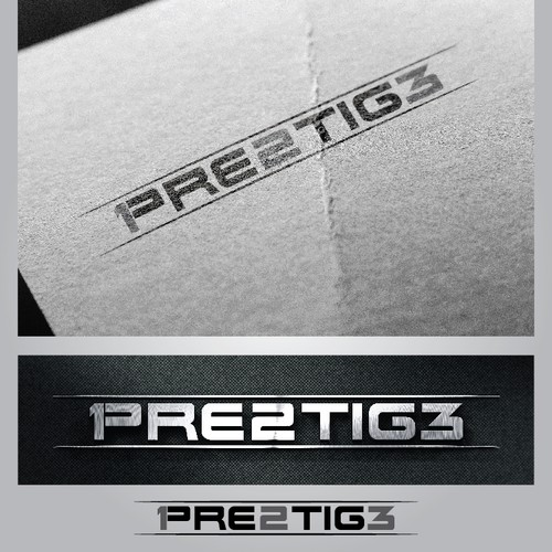 logo concept for prestige 123
