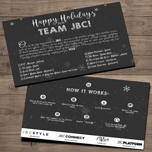 JBC Holiday Card