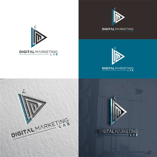 DIGITAL MARKETING LAB logo design