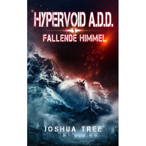 Science fiction book cover: HYPERVOID A.D.D - part 1