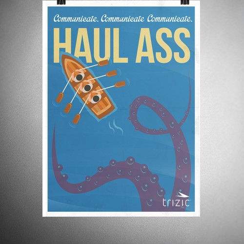 Haul Ass poster