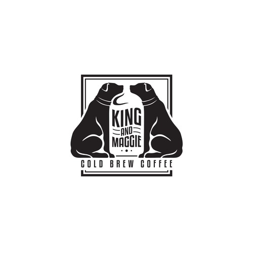 King and Maggie Cold Brew Coffee Logo