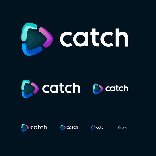Catch - logo design