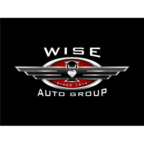 5 Dealership Auto Group looking to brand the group with a 3Dmetallic logo!