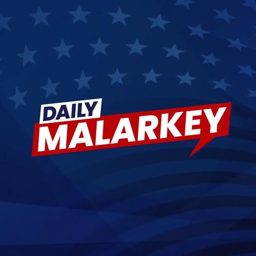'Daily Malarkey' podcast logo