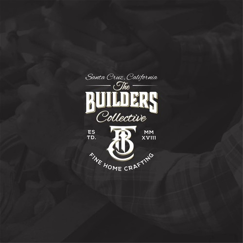 Bold logo concept for The Builders Collective