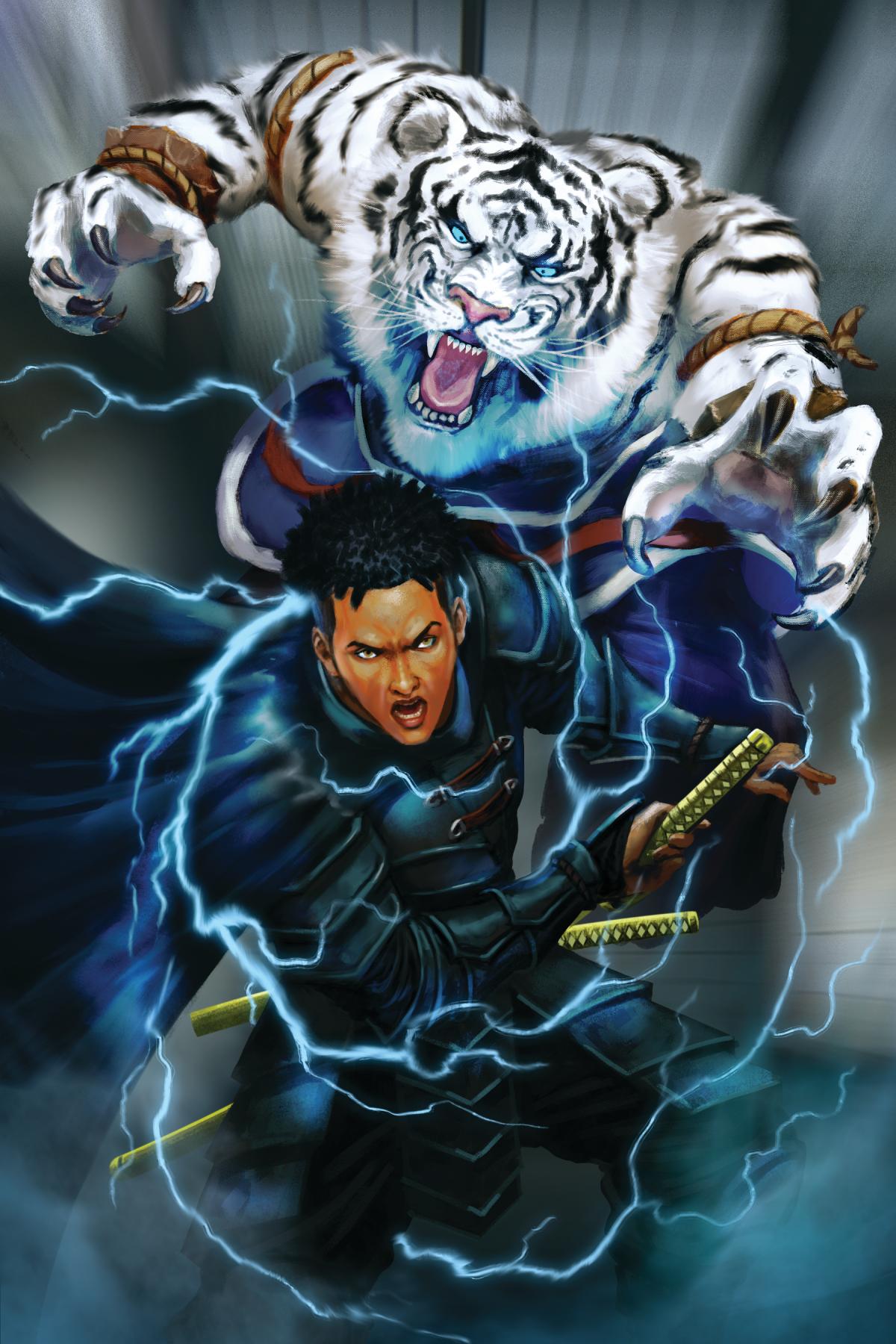 ronin VS tiger
