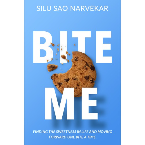 Book cover design for Bite Me