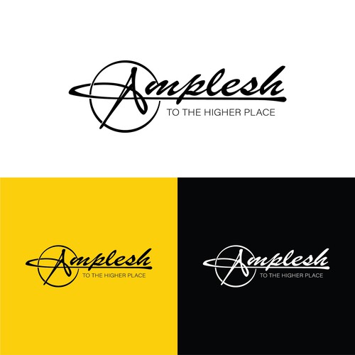 Amplesh Fashion Street Brand Logo Design.