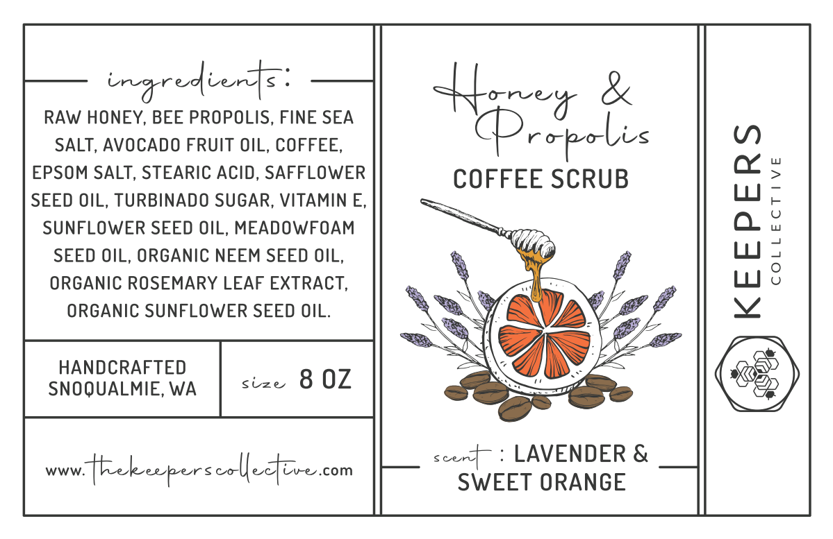 Keepers Collective Skincare Labels