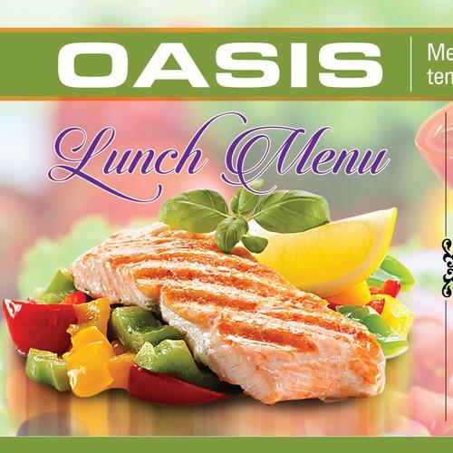 Create Digital Restaurant Menu Board Design