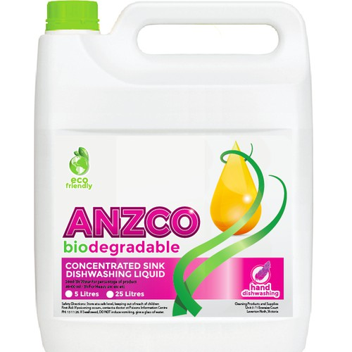 ANZCO Diswahing Lable
