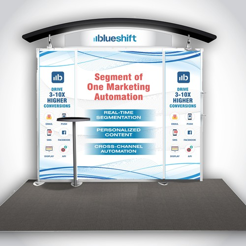 Trade Show Booth for E-commerce Marketing Automation Software Company