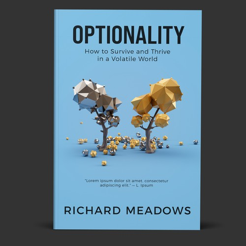 Optionality Book Cover concept