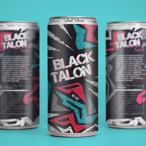 """Black Talon"" package design"