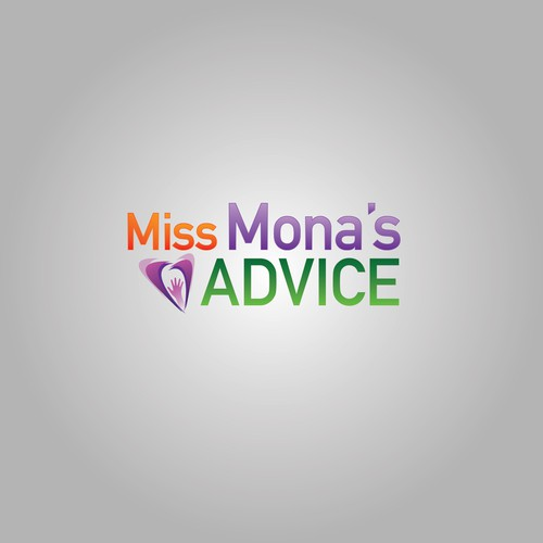 Miss Mona's Advice Logo Concept