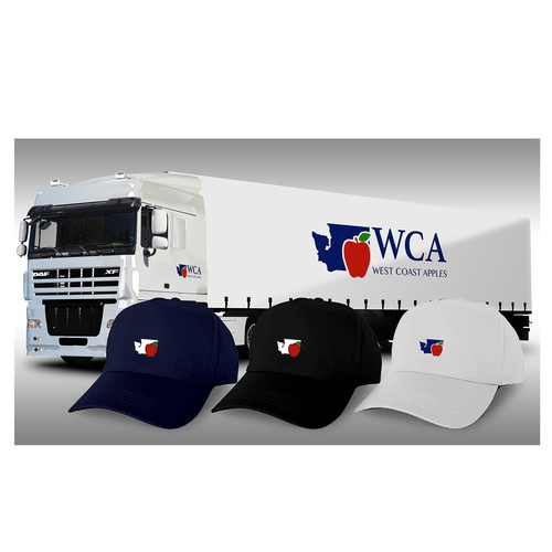 WCA - West Coast Apples Logo + Icon