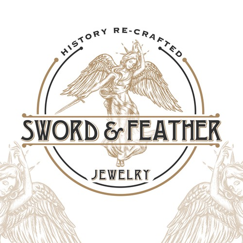 logo for vintage jewerly design