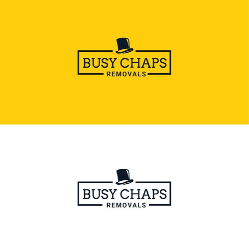 Logo Concept For Busy Chaps Removals