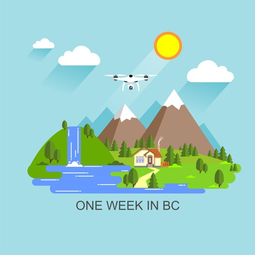 one week in BC