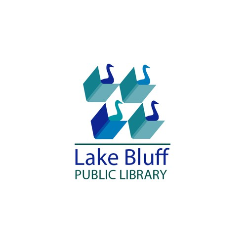 Lake Bluff public library logo