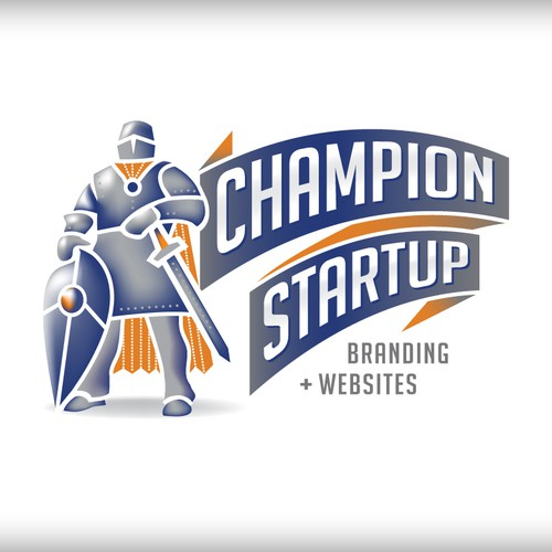 Logo Design for Champion Startup, a Design Agency!