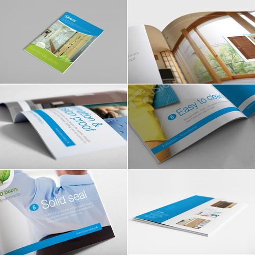 brochure design for kos
