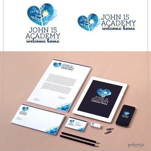 John 15 Academy Logo Concept