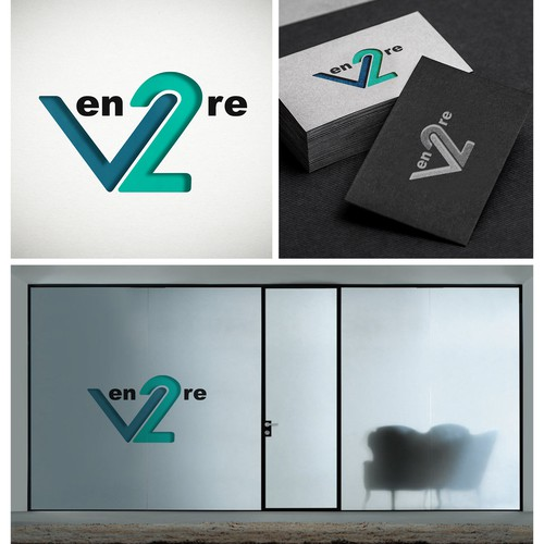 VEN2RE logo design