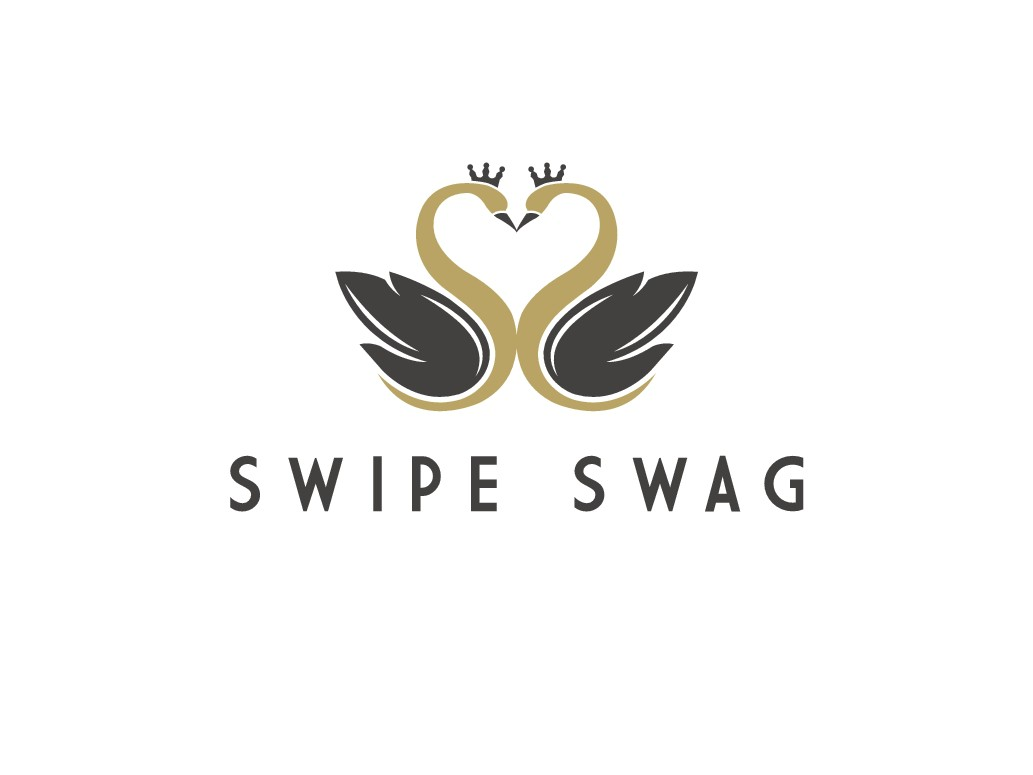 Swipe Swag -- Smooth logo for smooth talking!