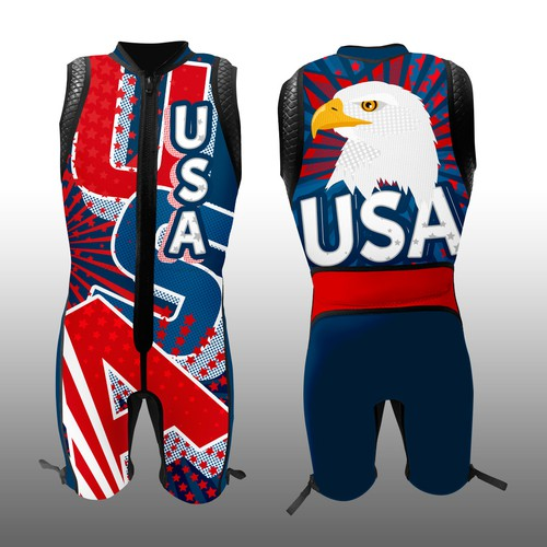 Wetsuit for the 2018 USA Team