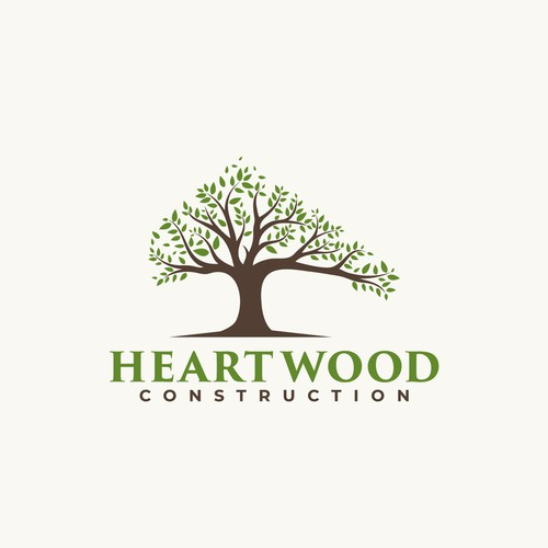 Heartwood Construction Logo