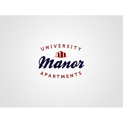 Help University Manor Apartments with a new logo