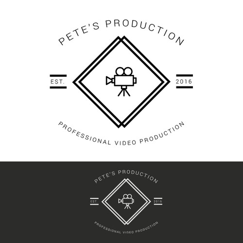 Pete's Production Film Logo Concept
