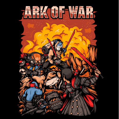 ARK OF WAR T-shirt design