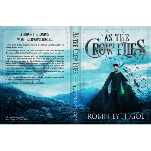 Design an eye-catching cover for a fantasy adventure about a thief!