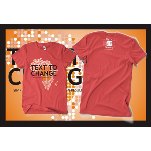 Text to Change  needs a new t-shirt design